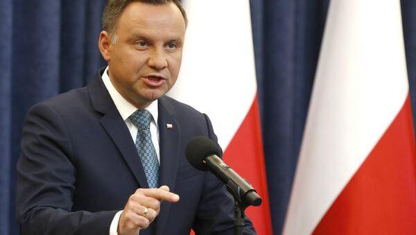 Polonya Cumhurbaşkanı Andrzej Duda - Sputnik Türkiye