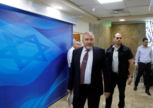İsrail Savunma Bakanı Avigdor Liberman