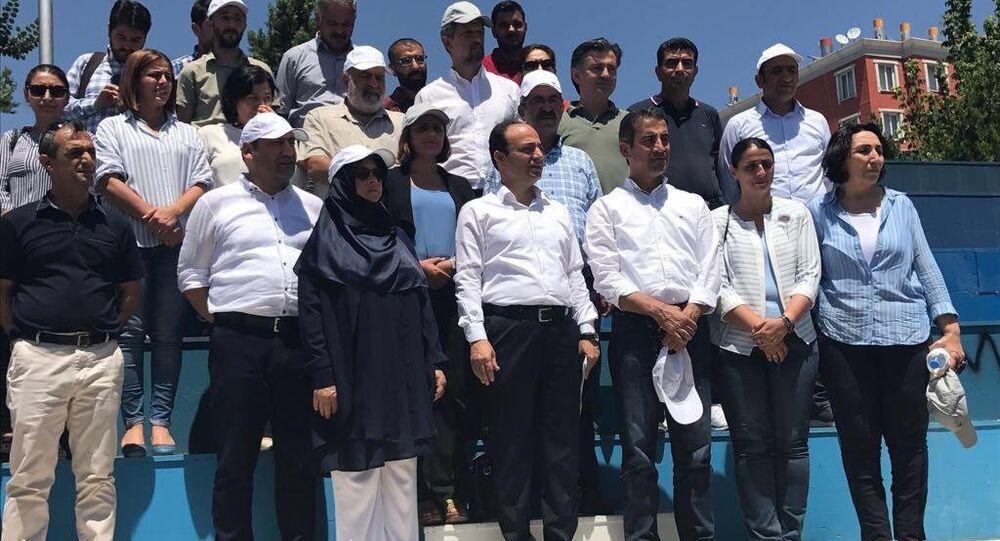 HDP, 'Vicdan ve Adalet Nöbeti'ne başladı