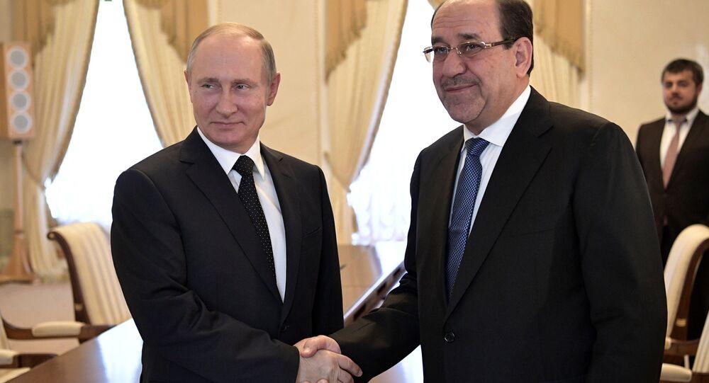 Rusya Devlet Başkaın Vladimir Putin, Rusya ile Irak'ın askeri teknik alanda işbirliğine aktif şekilde devam ettiğini söyledi. 07.2017