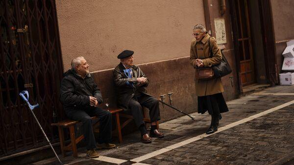 Yaşlı kadın - yaşlı erkek - Sputnik Türkiye