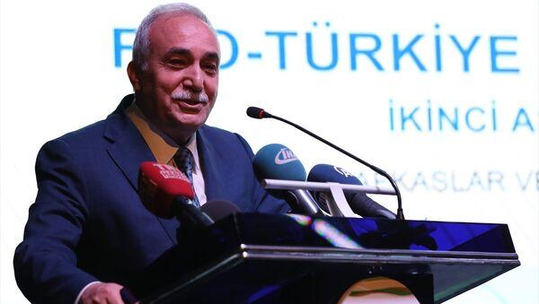 Gıda, Tarım ve Hayvancılık Bakanı Ahmet Eşref Fakıbaba - Sputnik Türkiye