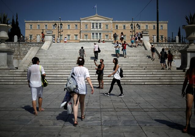Atina / Sintagma Meydanı / Yunanistan Parlamentosu - Vouli