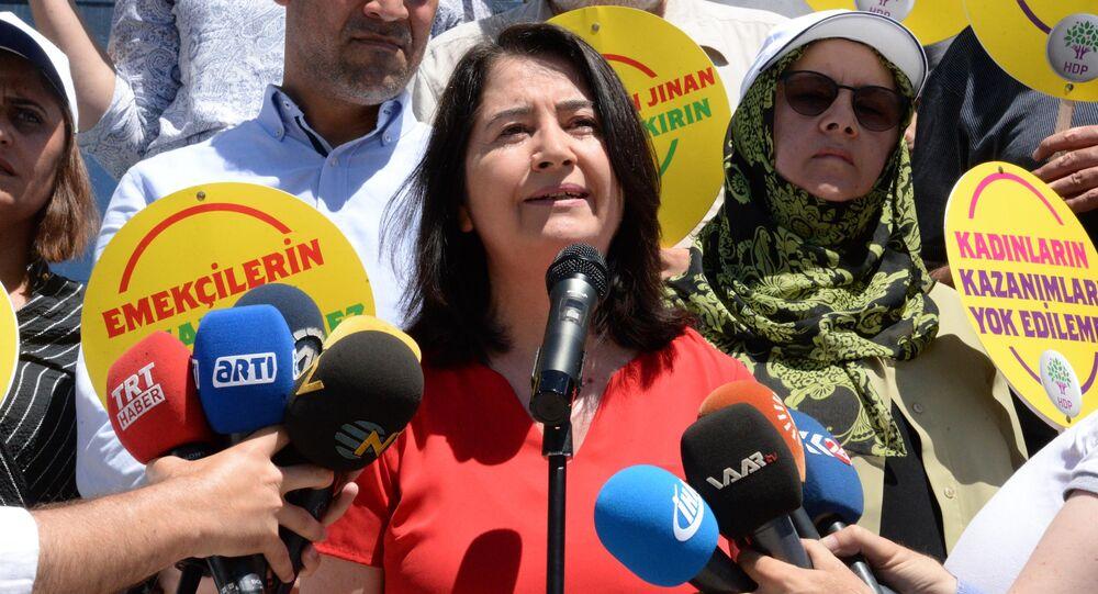 HDP Eş Genel Başkanı Serpil Kemalbay