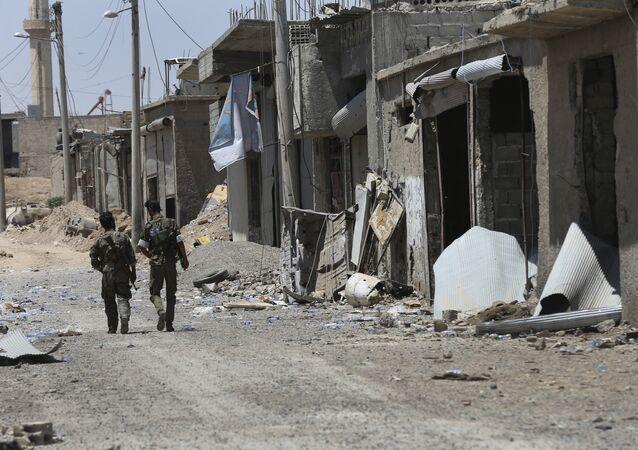 Rakka, Demokratik Suriye Güçleri