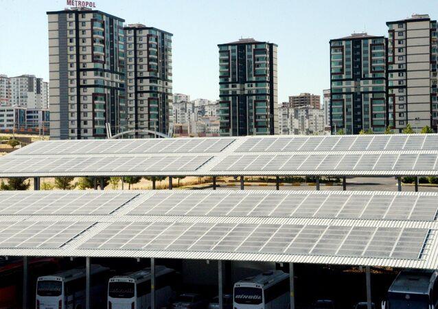 Diyarbakır - güneş enerjisi - otogar