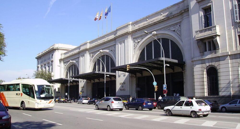 İspanya- Tren istasyonu