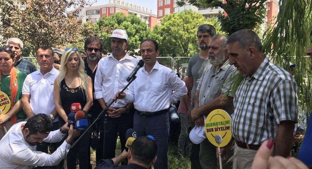 HDP'nin nöbetine CHP'den destek ziyareti