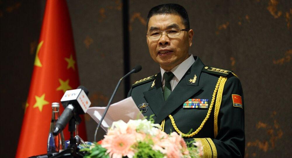 Çin'in Ankara Büyükelçiliği Askeri Ataşesi Zheng Qinli