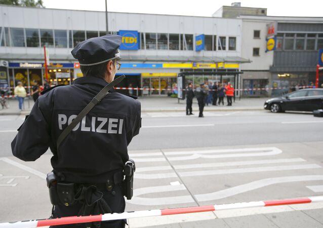 Hamburg'da bıçaklı saldırı