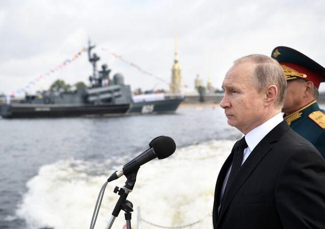 Rusya Devlet Başkanı Vladimir Putin, Rusya Donanması Günü