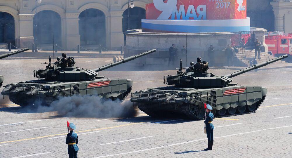 T-72B3 tankları