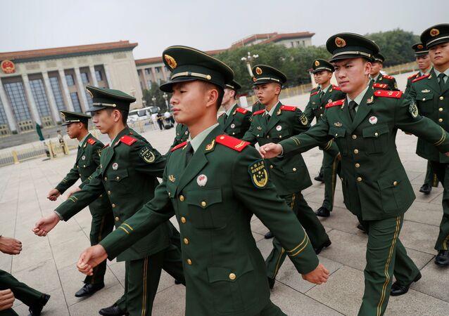 Çin Halk Kurtuluş Ordusu'nun 90. kuruluş yıl dönümü