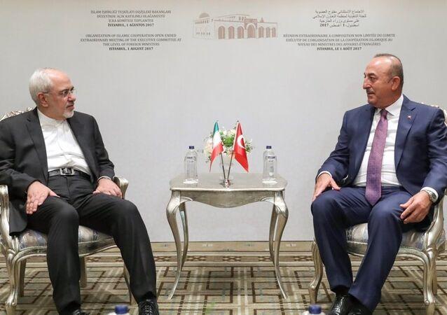 Dışişleri Bakanı Mevlüt Çavuşoğlu - İran Dışişleri Bakanı Cevad Zarif