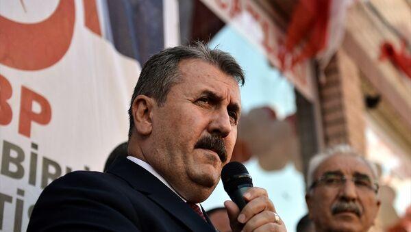 BBP Genel Başkanı Mustafa Destici - Sputnik Türkiye
