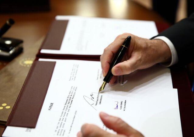 Cumhurbaşkanı Erdoğan, YAŞ kararını imzaladı