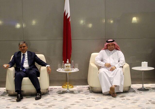 11. Cumhurbaşkanı Abdullah Gül Doha'da