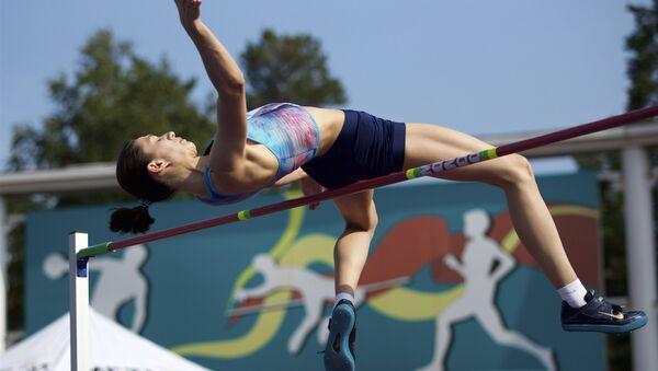 Rus atlet Maria Lasitskene - Sputnik Türkiye