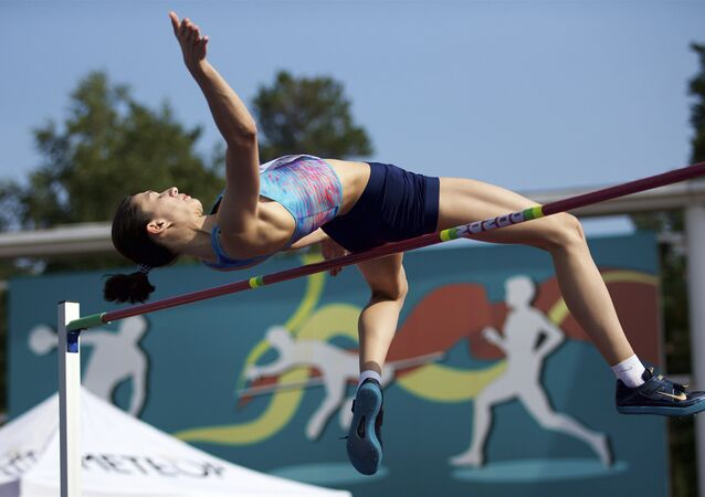 Rus atlet Maria Lasitskene