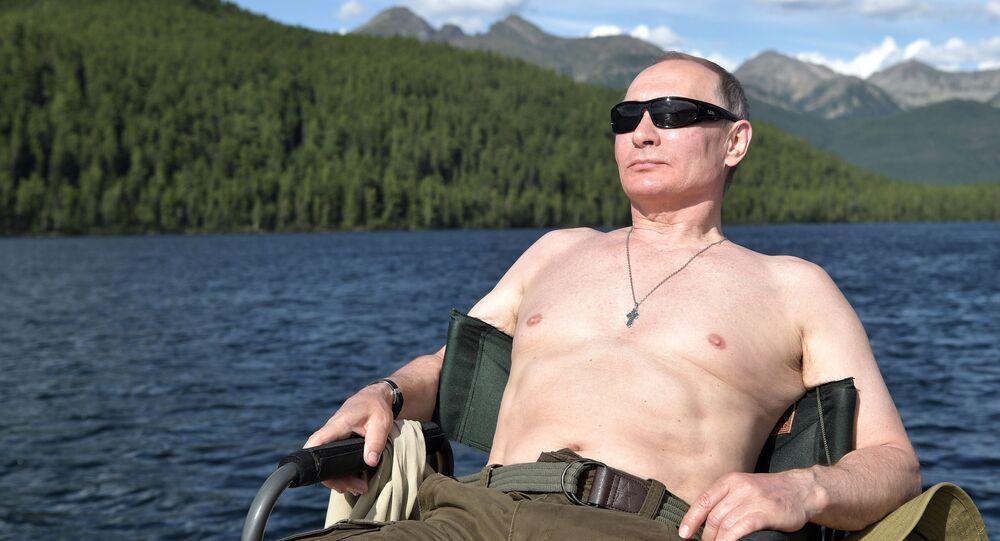 Rusya Devlet Başkanı Vladimir Putin- Tuva