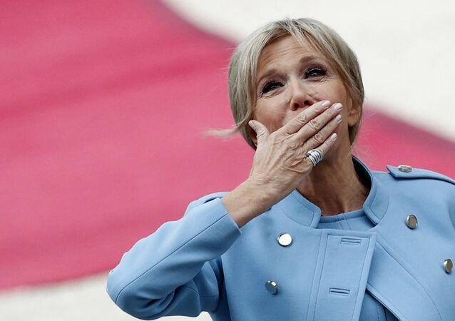 Fransa Cumhurbaşkanı Emmanuel Macron'un eşi Brigitte Trogneux