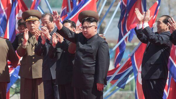 Kuzey Kore lideri Kim Jong-un - Sputnik Türkiye