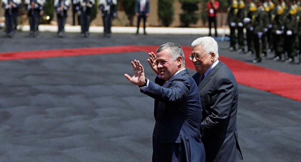 Ürdün Kralı 2. Abdullah ve Filistin Devlet Başkanı Mahmud Abbas