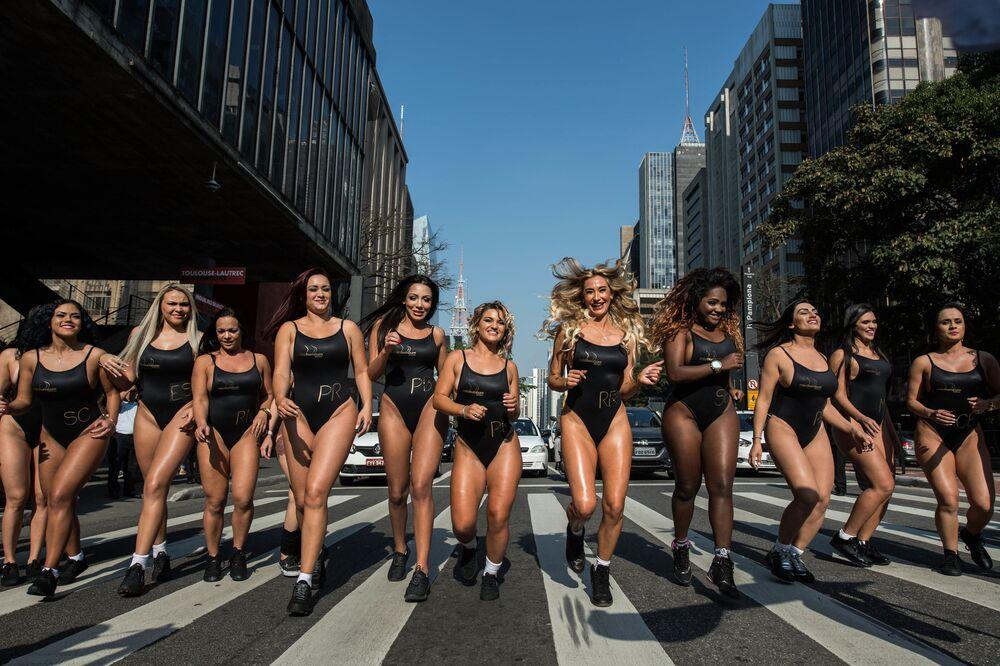 Brezilya'da Miss BumBum 2017 yarışması