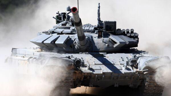 Rusya'da Tank Biatlonu - Sputnik Türkiye