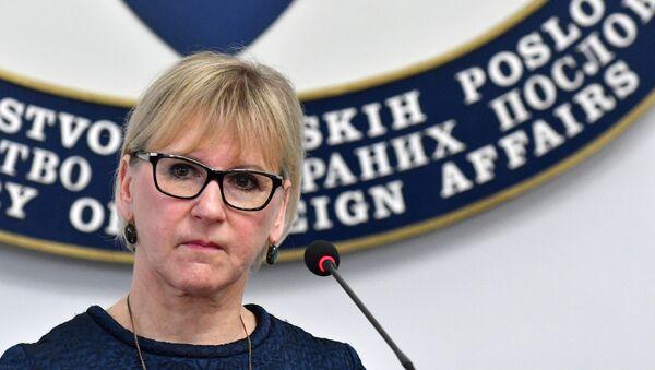 İsveç Dışişleri Bakanı Margot Wallström - Sputnik Türkiye