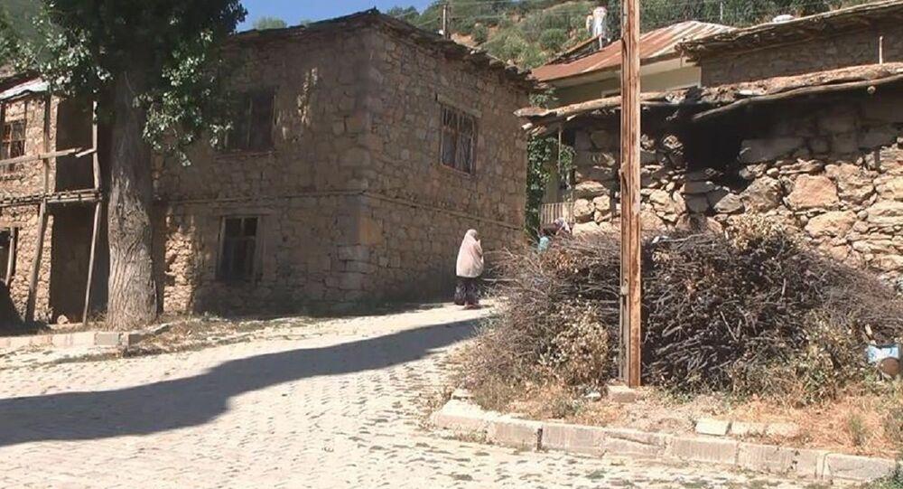 Hakkari'nin Şemdinli ilçesinde bir mahalle
