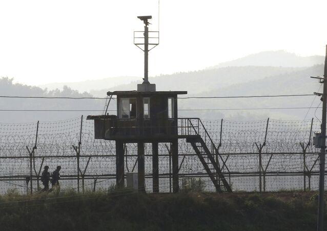 Kuzey Kore - Güney Kore, sınır