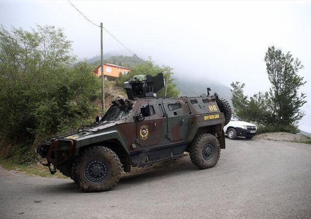 Trabzon Maçka'da operasyon