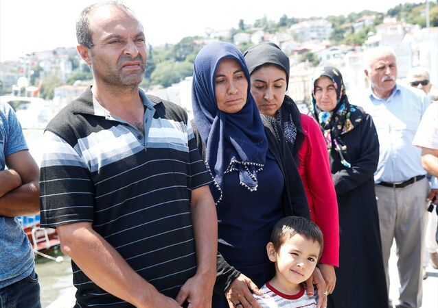 İstanbul Boğazı'nda Furkan Yıldırım'ı arama çalışmaları