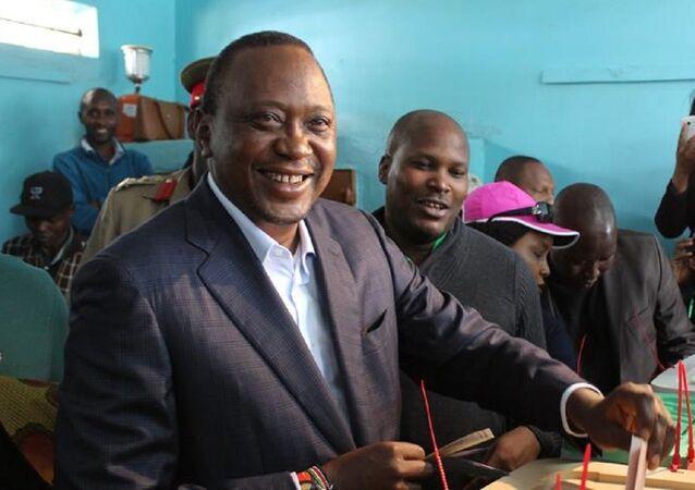 Kenya Devlet Başkanı Uhuru Kenyatta