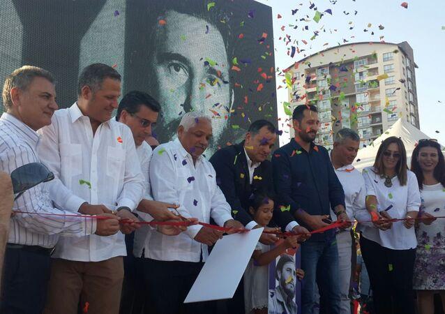 Çankaya'da Fidel Castro parkı açıldı
