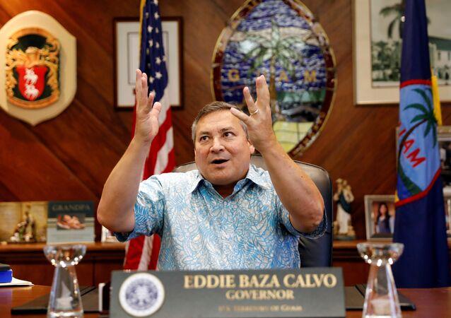 Guam Valisi Eddie Calvo