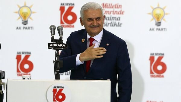 Başbakan Binali Yıldırım - Sputnik Türkiye
