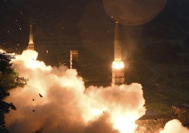 Güney Kore'nin Hyunmoo II füze sistemi