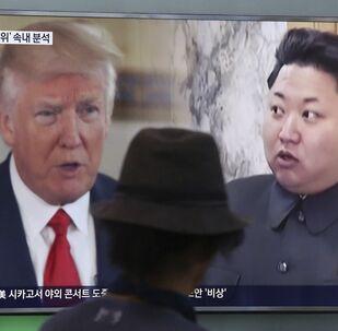 ABD Başkanı Donald Trump, Kuzey Kore lideri Kim Jong-un