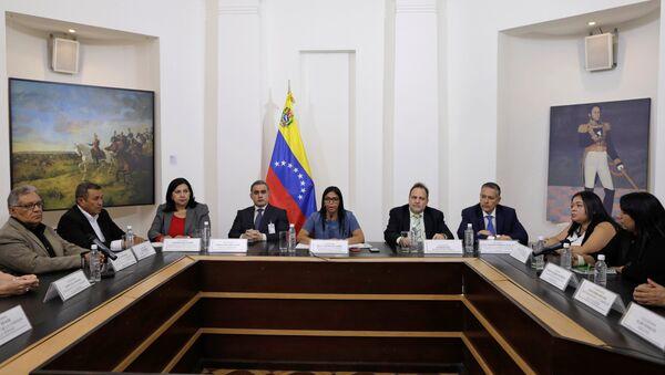 Venezüella'da muhaliflerin soruşturulması için 'hakikat komisyonu' kuruldu - Sputnik Türkiye