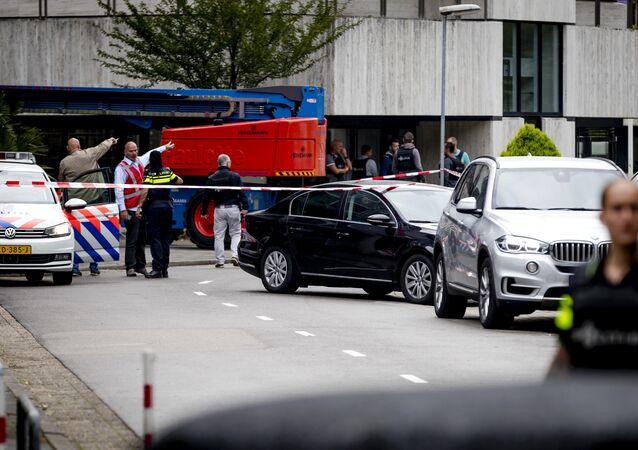 Hollanda'da rehine krizi