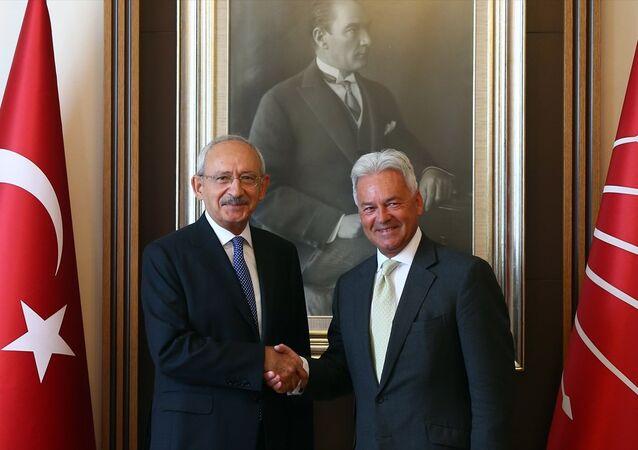 CHP Genel Başkanı Kemal Kılıçdaroğlu - İngiltere Dışişleri Bakanlığında Avrupa ve Amerika'dan sorumlu Devlet Bakanı Alan Duncan