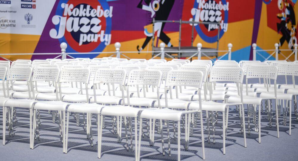 Kırım'daki Koktebel Caz Partisi festivali