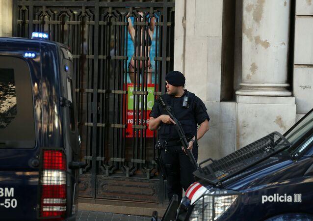 İspanya'da Mossos polisi