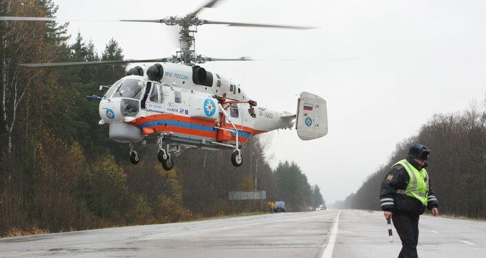 Ka-32 tipi helikopter