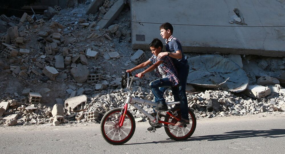 Suriye'li çocukların hayatı
