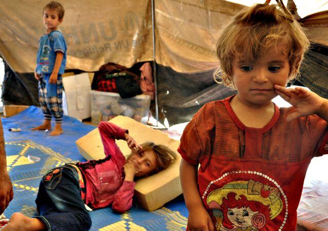 Suriyeli çocukların hayatı