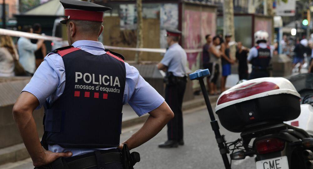 İspanya, polis