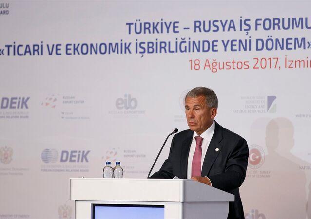 Tataristan Cumhurbaşkanı Rustam Minnihanov